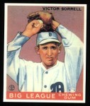 1933 Goudey Reprints #15  Vic Sorrell  Front Thumbnail