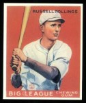 1933 Goudey Reprints #88  Russell Rollings  Front Thumbnail