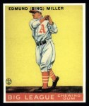 1933 Goudey Reprints #59  Bing Miller  Front Thumbnail