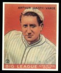 1933 #2  Dazzy Vance  Front Thumbnail