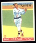 1933 Goudey Reprints #151  Jake Flowers  Front Thumbnail