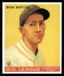 1933 Goudey Reprints #28  Dick Bartell  Front Thumbnail