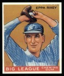 1933 Goudey Reprints #74  Eppa Rixey  Front Thumbnail