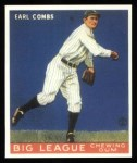 1933 Goudey Reprints #103  Earle Combs  Front Thumbnail