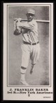 1916 M101-5 Blank Back Reprints #8  Home Run Baker  Front Thumbnail
