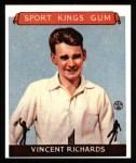 1933 Sport Kings Reprints #23  Vincent Richards   Front Thumbnail