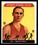 1933 Sport Kings Reprints #5  Ed Wachter   Front Thumbnail