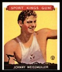 1933 Sport Kings Reprints #21  John Weissmuller   Front Thumbnail