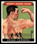 1933 Sport Kings Reprints #43  Primo Carnera   Front Thumbnail