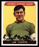 1933 Sport Kings Reprints #6  Jim Thorpe   Front Thumbnail