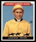 1933 Sport Kings Reprints #13  Laverne Fator   Front Thumbnail