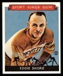 1933 Sport Kings Reprints #19  Eddie Shore   Front Thumbnail
