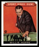 1933 Sport Kings Reprints #36  Willie Hoppe   Front Thumbnail