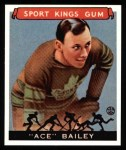 1933 Sport Kings Reprints #29  Ace Bailey   Front Thumbnail