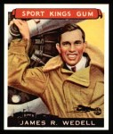 1933 Sport Kings Reprints #26  James Wedell   Front Thumbnail