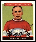 1933 Sport Kings Reprints #24  Howie Morenz   Front Thumbnail