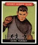 1933 Sport Kings Reprints #18  Gene Tunney   Front Thumbnail