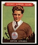 1933 Sport Kings Reprints #10  Anton Lekang   Front Thumbnail