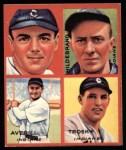 1935 Goudey 4-in-1 Reprints #7 E Earl Averill / Oral Hildebrand / Willie Kamm / Hal Trosky  Front Thumbnail