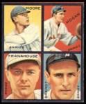 1935 Goudey 4-in-1 Reprints #4 E Ed Brandt / Fred Frankhouse / Shanty Hogan / Gene Moore  Front Thumbnail