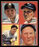 1935 #5 E Sam Leslie / Lonnie Frey / Joe Stripp / Watson Clark  Front Thumbnail