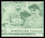 1935 Goudey 4-in-1 Reprints #8 E Jimmy DeShong / Johnny Allen / Red Rolfe / Dixie Walker  Back Thumbnail