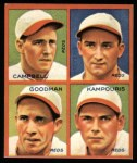 1935 Goudey 4-in-1 Reprints #8 D Bruce Campbell / Billy Meyers / Ival Goodman / Alex Kampouris  Front Thumbnail
