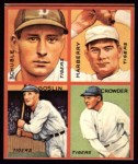 1935 Goudey 4-in-1 Reprints #6 F Heinie Schuble / Fred Marberry / Goose Goslin / General Crowder  Front Thumbnail