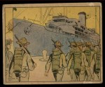 1941 Gum Inc. Uncle Sam Home Defense #28   Turned Over For Duty Front Thumbnail