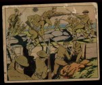 1941 Gum Inc. Uncle Sam Home Defense #4   Sham Bayonet Charge Front Thumbnail