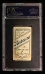 1909 T206 #309 WHI Christy Mathewson  Back Thumbnail
