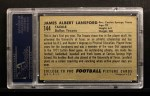 1952 Bowman Large #144  Jim Lansford  Back Thumbnail