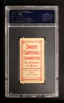 1909 T206 #99 ON Ty Cobb  Back Thumbnail