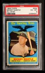 1959 Topps #564   -  Mickey Mantle All-Star Front Thumbnail