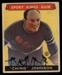 1933 Goudey Sport Kings #30  Ching Johnson   Front Thumbnail