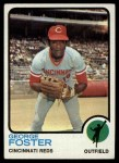 1973 Topps #399  George Foster  Front Thumbnail