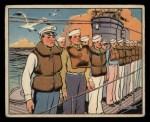 1941 Gum Inc. Uncle Sam Home Defense #60   Abandon Submarine Drill Front Thumbnail