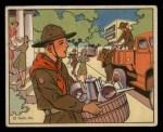 1941 Gum Inc. Uncle Sam Home Defense #103   Children's Duties Front Thumbnail