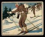 1941 Gum Inc. Uncle Sam Home Defense #52   Ski Troops And Patrols Front Thumbnail