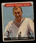 1933 Goudey Sport Kings #16  William Tilden   Front Thumbnail