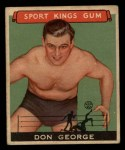 1933 Goudey Sport Kings #40  Don George   Front Thumbnail
