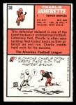 1966 Topps #38  Charlie Janerette  Back Thumbnail