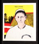 1933 Tattoo Orbit Reprints #43  Ted Lyons  Front Thumbnail