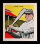 1933 Tattoo Orbit Reprints #3  Earl Averill  Front Thumbnail