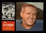 1962 Topps #109  Jim Katcavage  Front Thumbnail