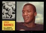 1962 Topps #111  Erich Barnes  Front Thumbnail