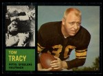 1962 Topps #128  Tom Tracy  Front Thumbnail