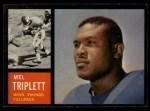 1962 Topps #93   Mel Triplett Front Thumbnail
