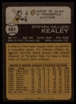 1973 Topps #581   Steve Kealey Back Thumbnail
