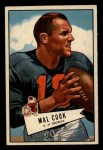 1952 Bowman Small #87  Mal Cook  Front Thumbnail